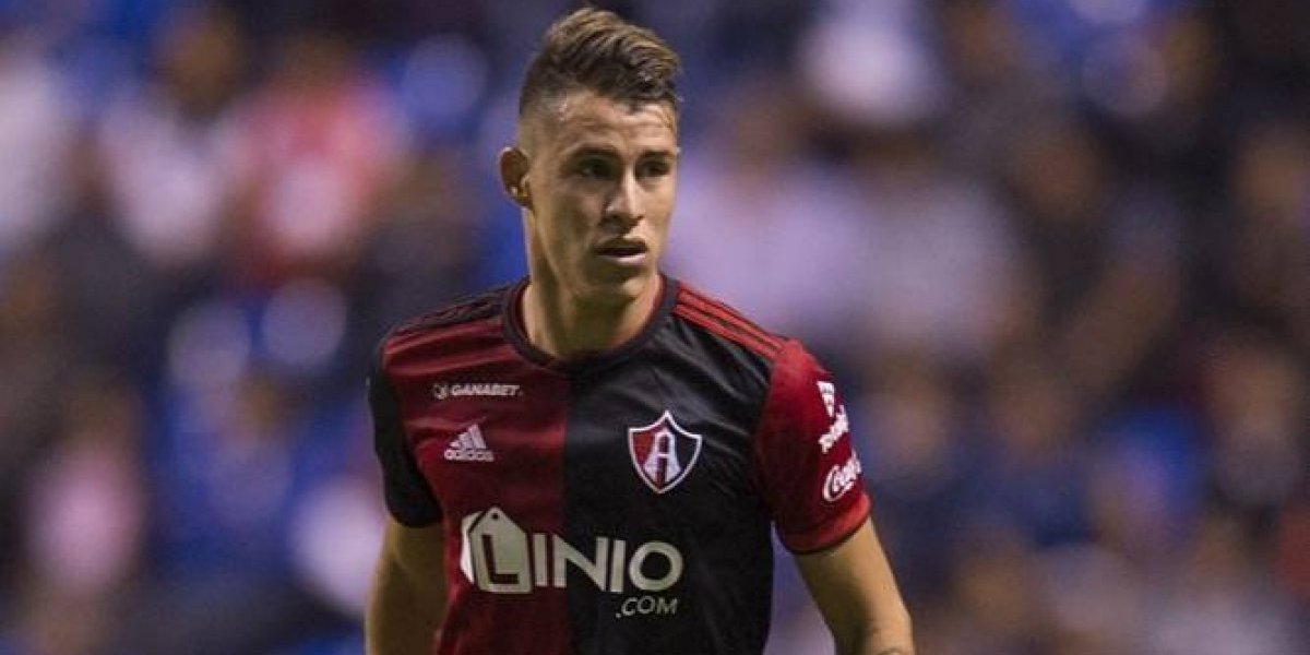 Cristian Calderón agradece la confianza recibida en Atlas