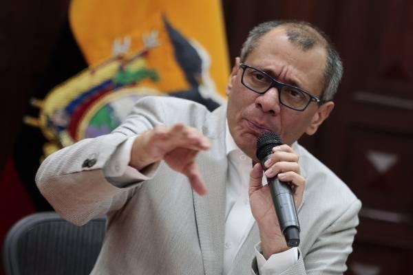 Jorge Glas cumple un mes de huelga de hambre