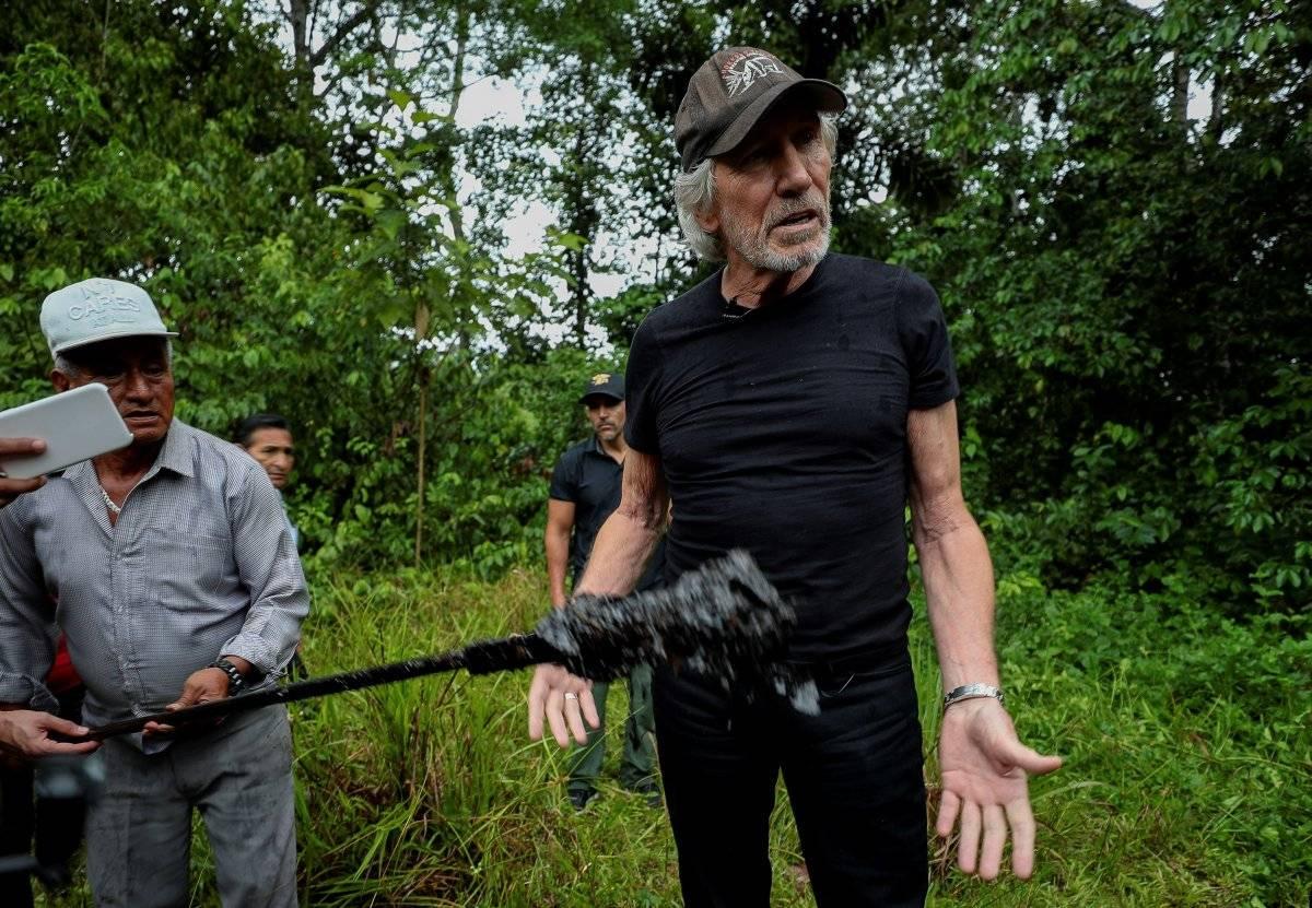 Roger Waters visita Amazonía pero no puedo ver efectos de contaminación EFE