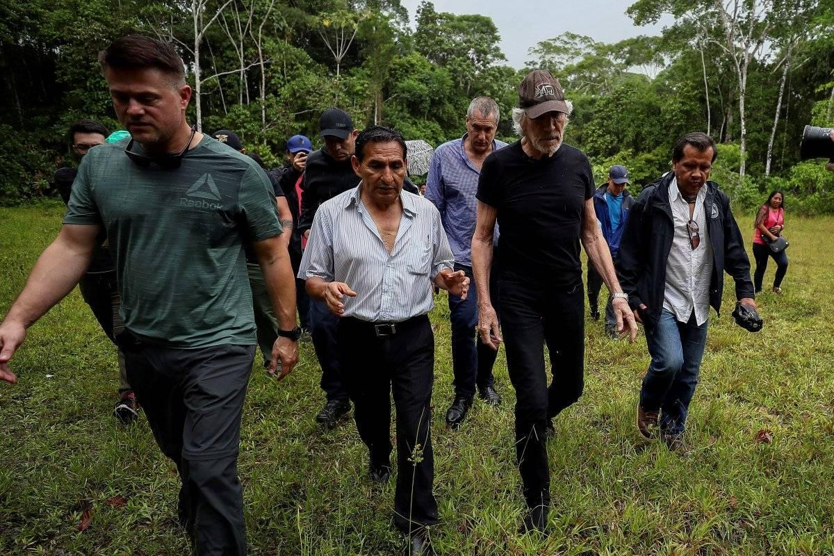 """Roger Waters se quejó de que """"ciertos altos círculos de Gobierno"""" trataron de impedir su visita a Ecuador EFE"""