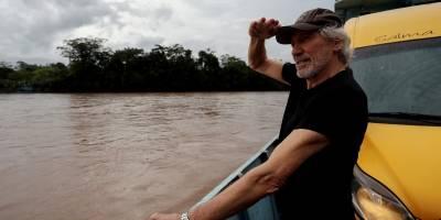 Roger Waters visita Amazonía pero no puedo ver efectos de contaminación