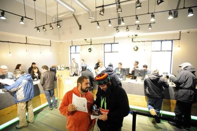 Venta de marihuana en Massachusetts