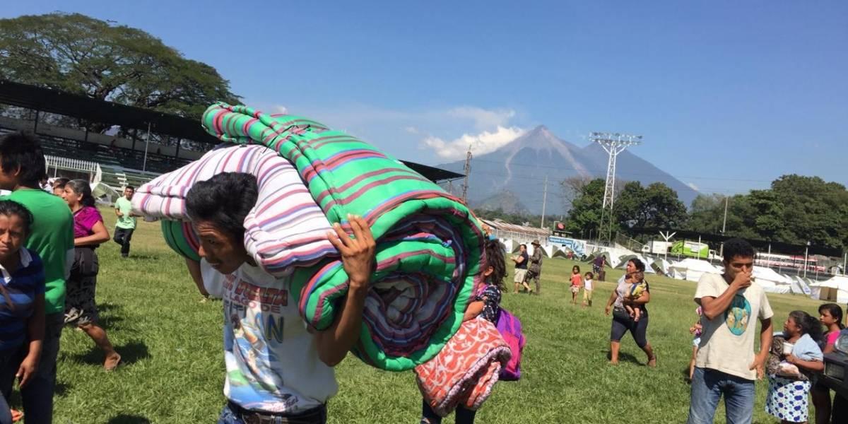EN IMÁGENES. Tras cese de la erupción, albergados podrán retornar a sus hogar