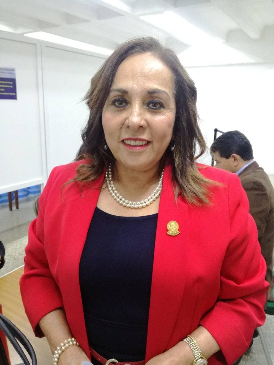 Amélida Pineda Yumán es candidata a dirigir la Contraloría. Foto: Guatemala Visible