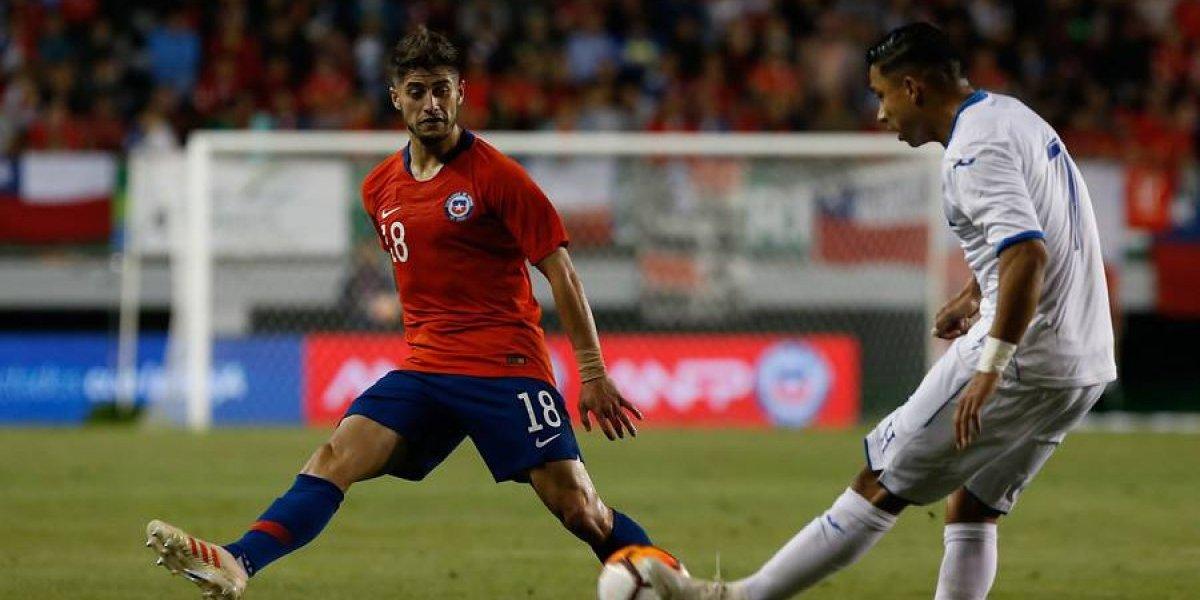 Ángelo Sagal mostró chispazos en su regreso a la titularidad pero sigue sin trascender en la Roja