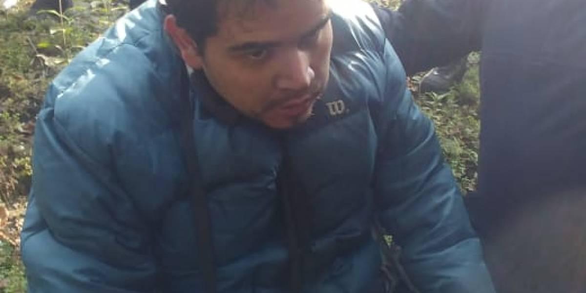 Video: Rescatan a joven reportado como desaparecido en Los Dinamos