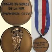 Medalla bronce Francia 998