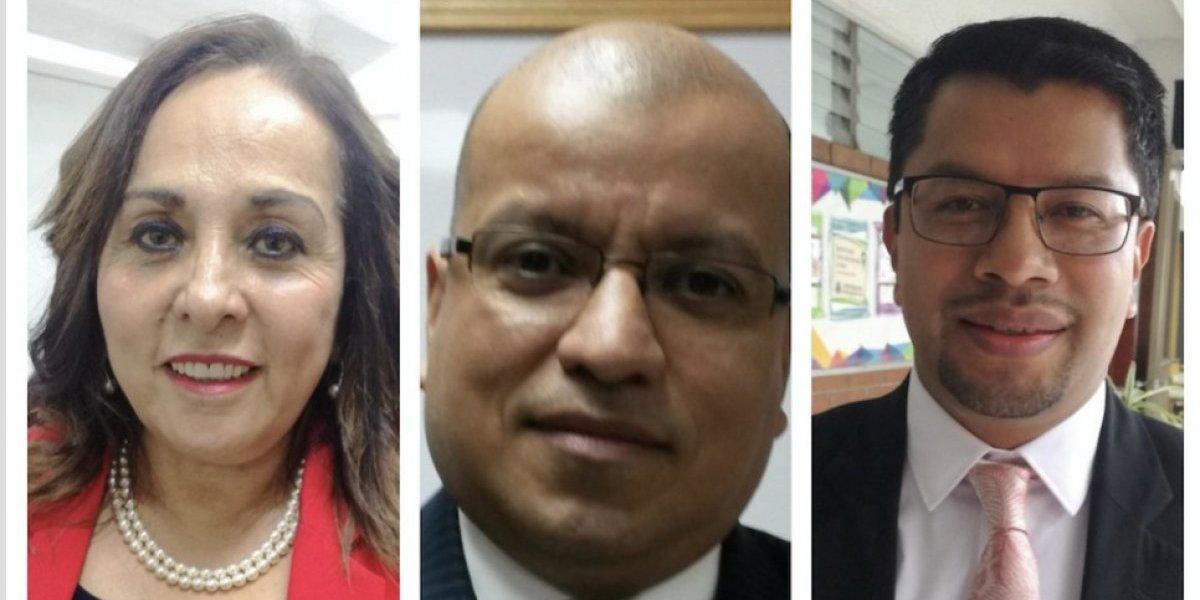 Mencionan a tres aspirantes para dirigir la Contraloría