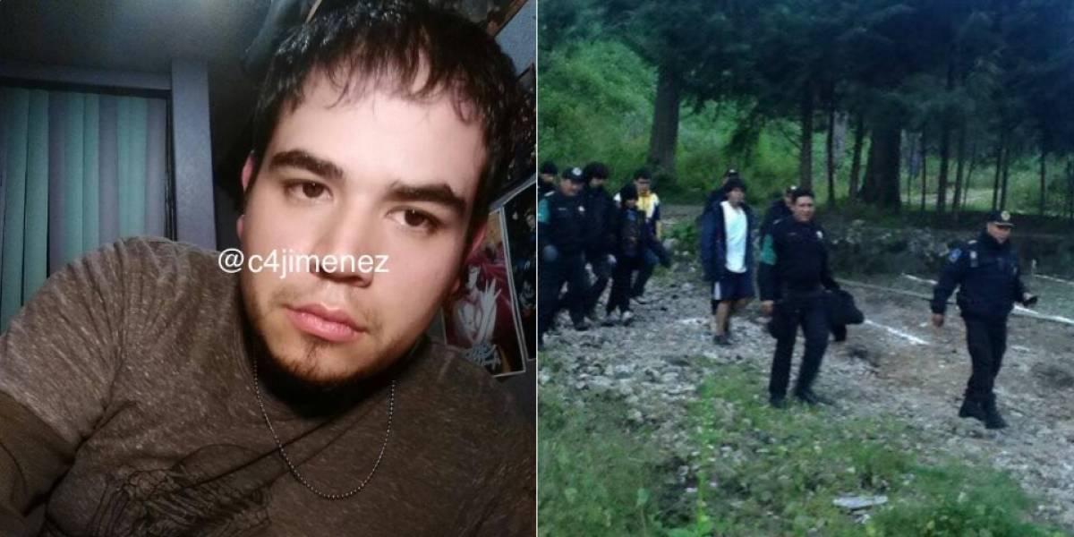 Policía capitalina busca a joven extraviado en Los Dinamos