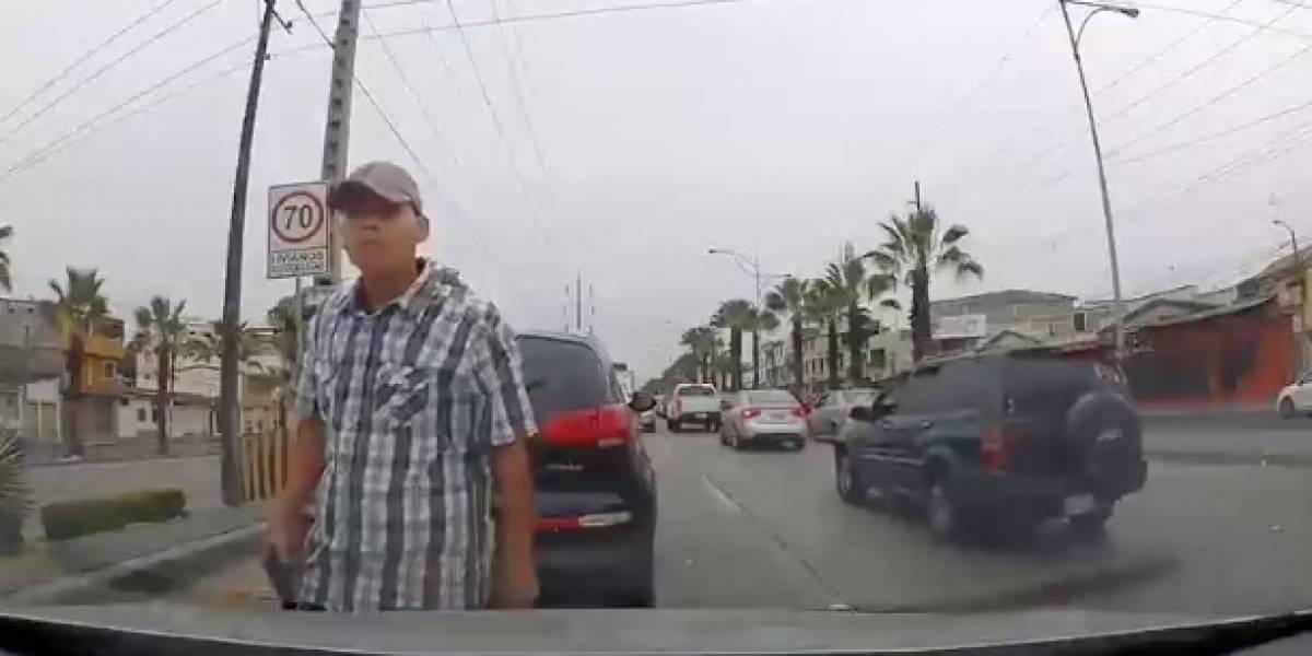 VIDEO: Nuevo intento de asalto a mano armada en Guayaquil
