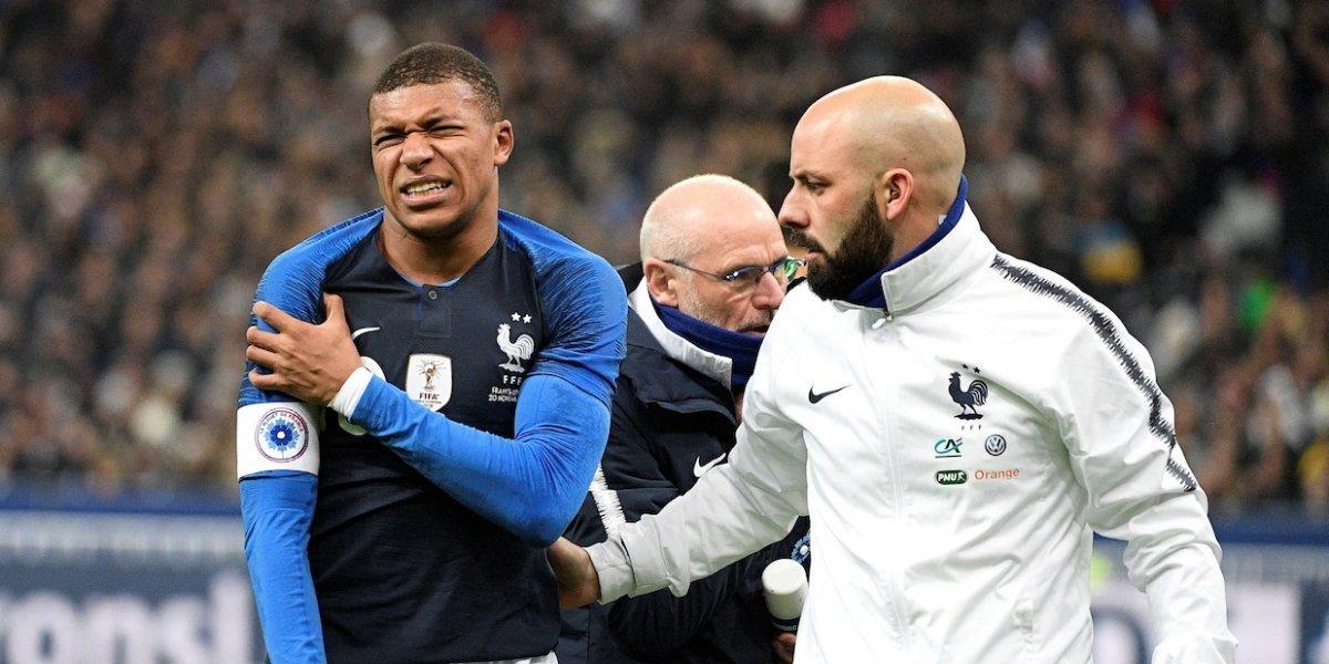 PSG: ¡París Sin Gracia! Las aparatosas lesiones de Mbappé y Neymar en amistosos