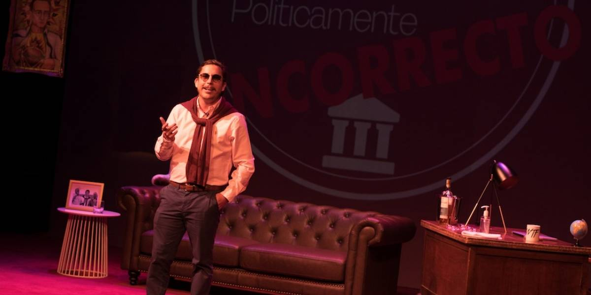 """Alejandro Riaño nos muestra lo """"políticamente incorrecto"""" en el teatro"""