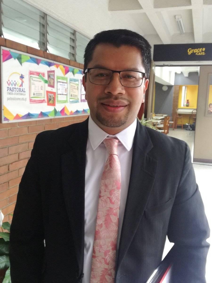 César Elías Ajcá también busca el cargo de contralor general de cuentas. Foto: Guatemala Visible