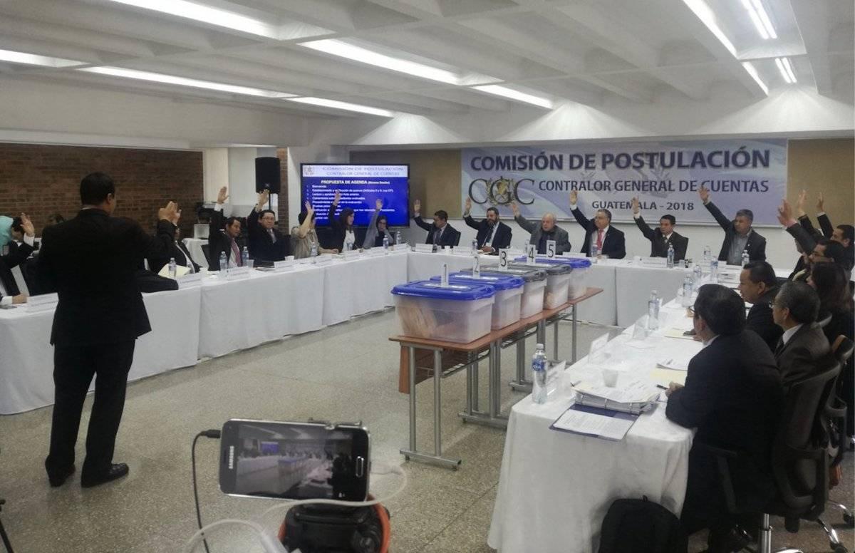 Comisión de postulación para contralor general