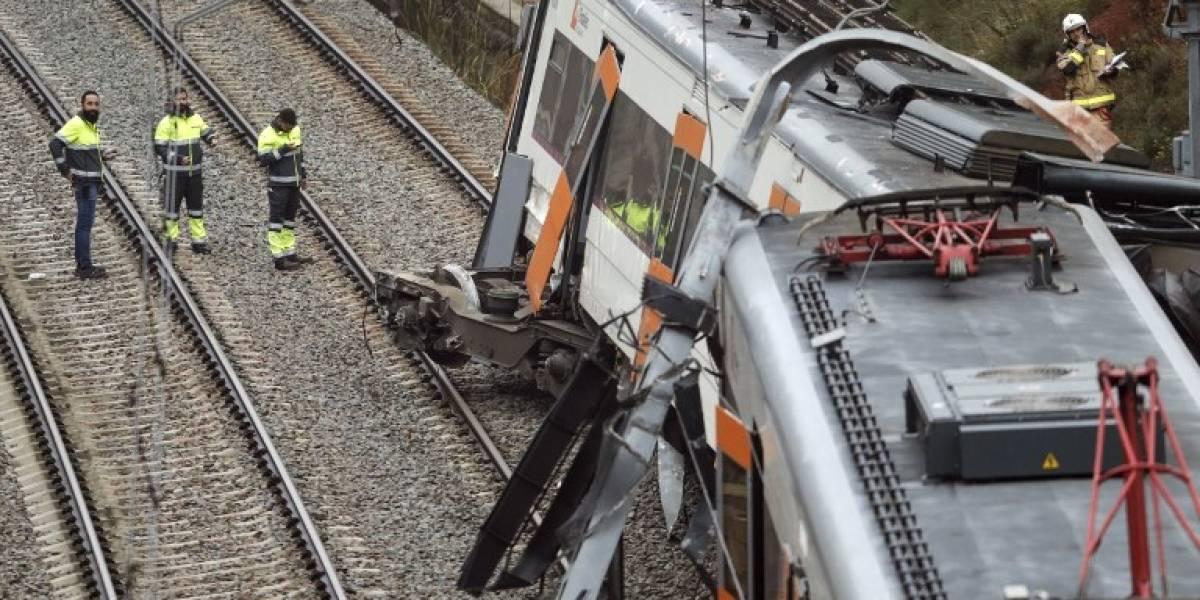 VIDEO.Accidente de tren en España deja un muerto y más de 40 heridos