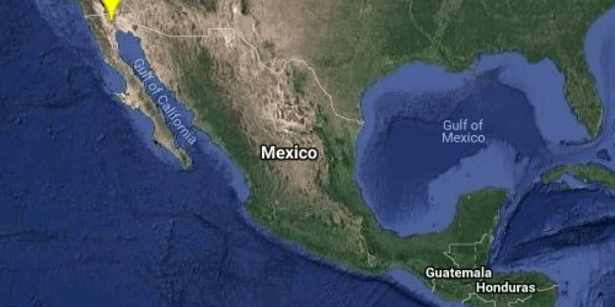 Enjambre sísmico sacude la frontera entre Sonora y Baja California
