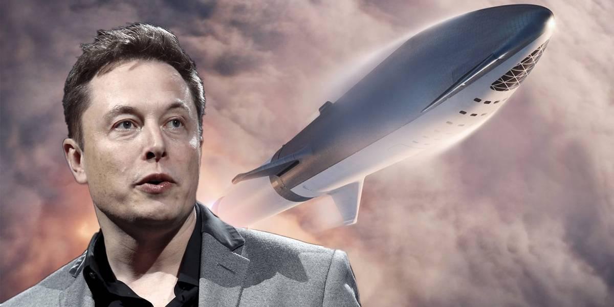 SpaceX podría usar sus cohetes Starship como camiones de basura espacial