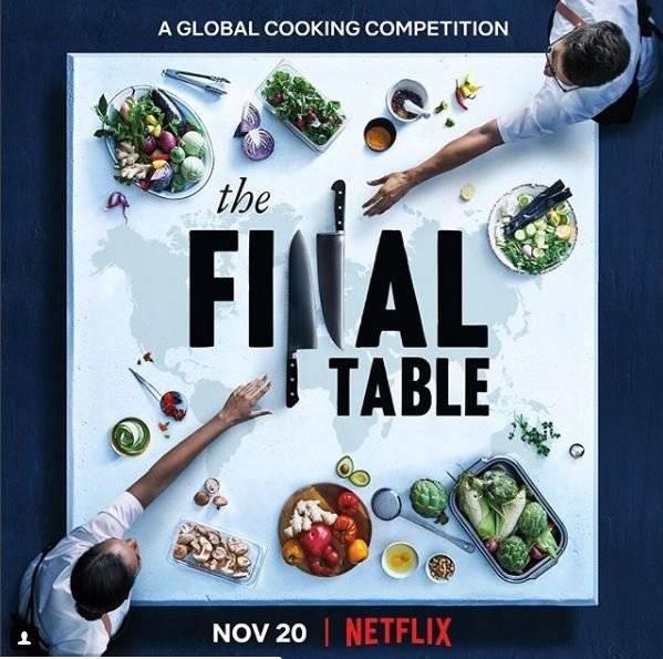 Chef ecuatoriano, Rodrigo Pacheco participa en The Final Table de Netflix