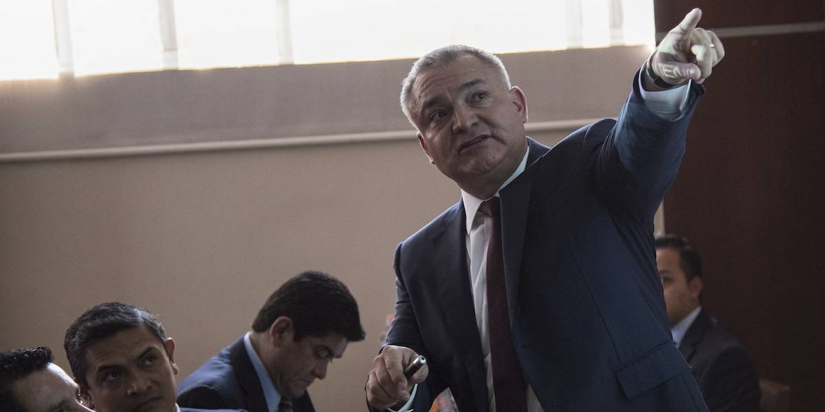 'Mentira, difamación y perjurio', responde García Luna a acusación de soborno