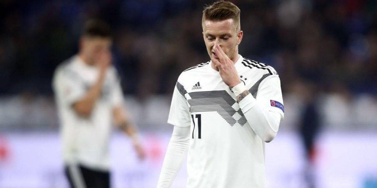 Histórico: Alemania no será cabeza de serie en la clasificación de la Eurocopa por primera vez