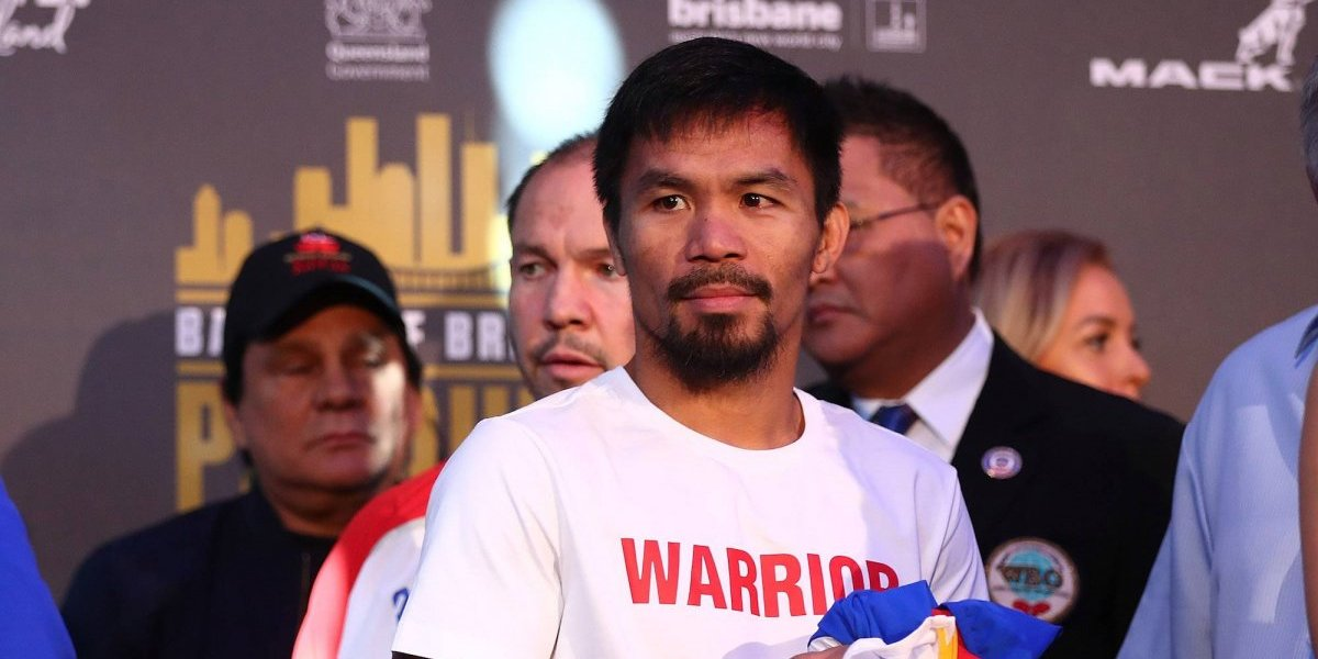 Pacquiao le pide a Mayweather la revancha