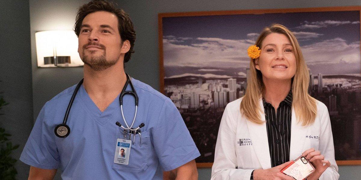 Grey's Anatomy: Ator esclarece se DeLuca está realmente apaixonado por Meredith na 15ª temporada