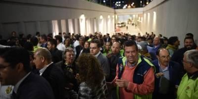 Inauguran el paso a desnivel de Oakland Mall
