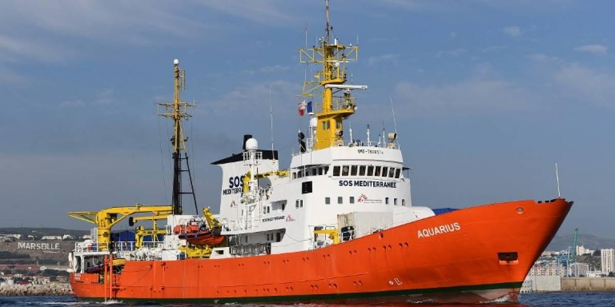 """Italia embarga el """"Aquarius"""" por tratamiento ilegal de residuos"""