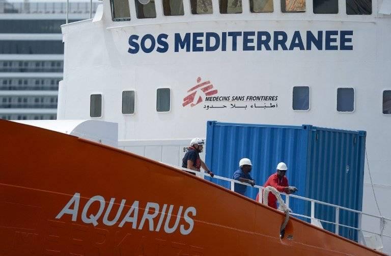 Barco humanitario Aquarius