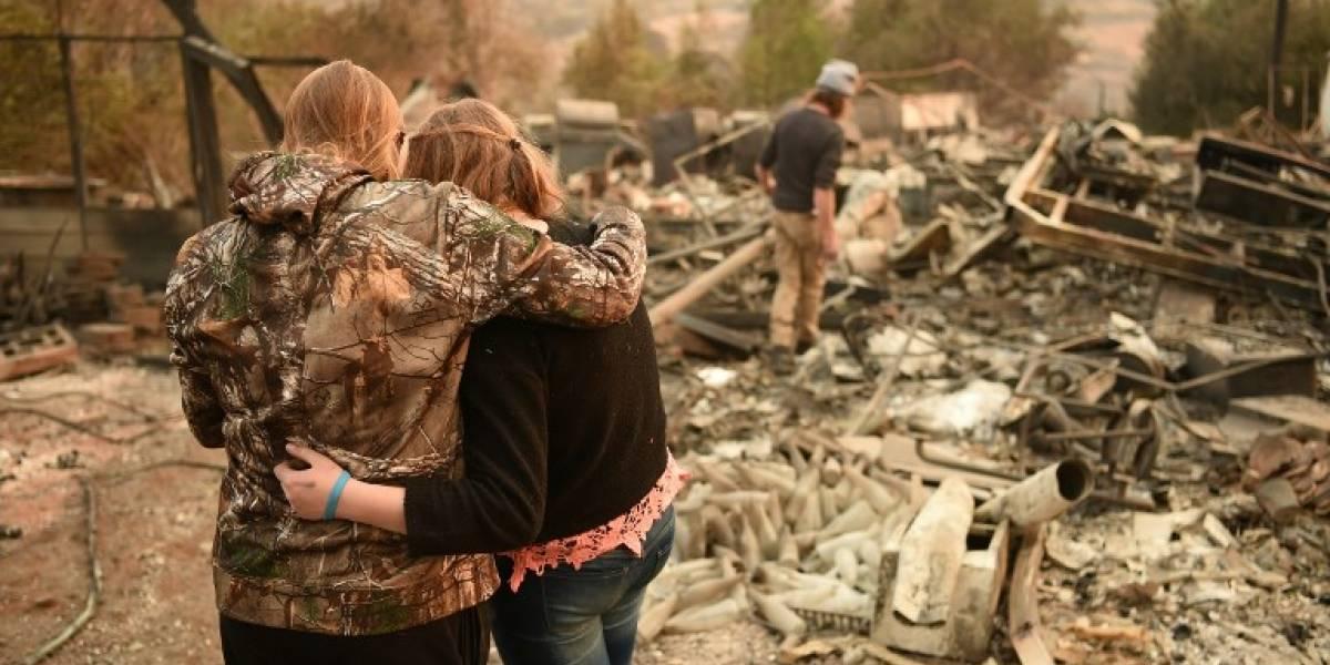 Lluvias pueden dificultar búsqueda de víctimas en California
