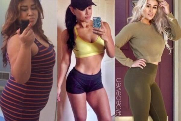 Perdió 50 kilos porque quería ver crecer a su hija sana