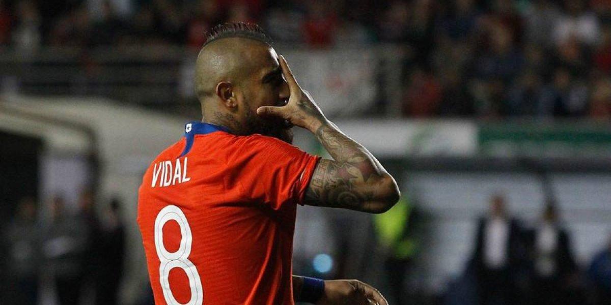 """Vidal quiere más con la Roja: """"Somos los bicampeones y vamos a defender a muerte la Copa América"""""""