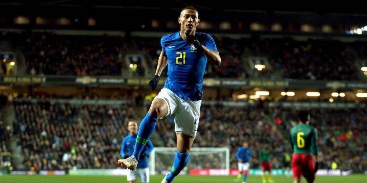 Brasil sufrió la lesión de Neymar en triunfo sobre Camerún en amistoso de fecha FIFA