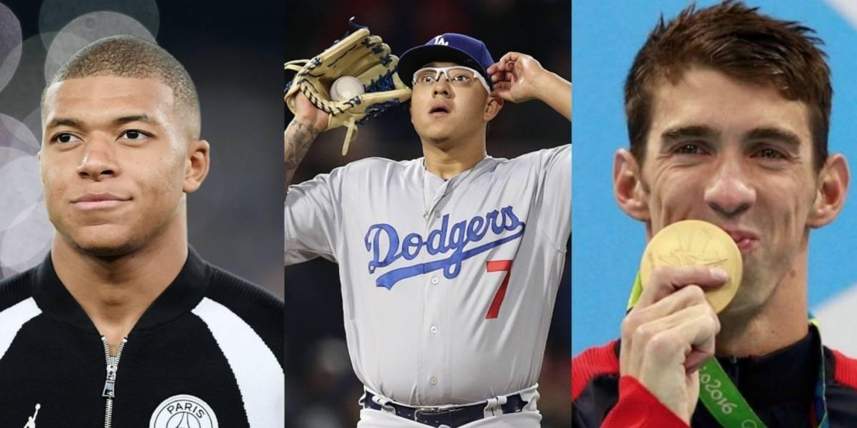 Los deportistas que desde niños ya eran cracks