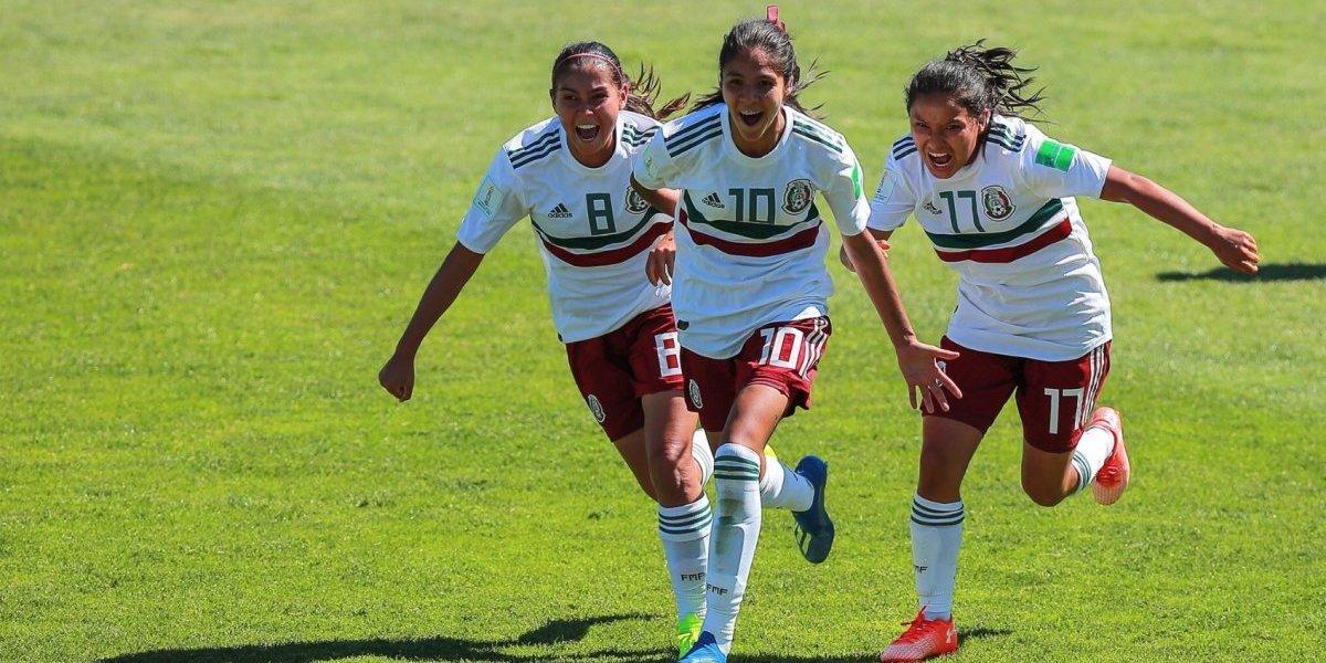 México enfrentará a Ghana en cuartos del Mundial Femenil Sub 17
