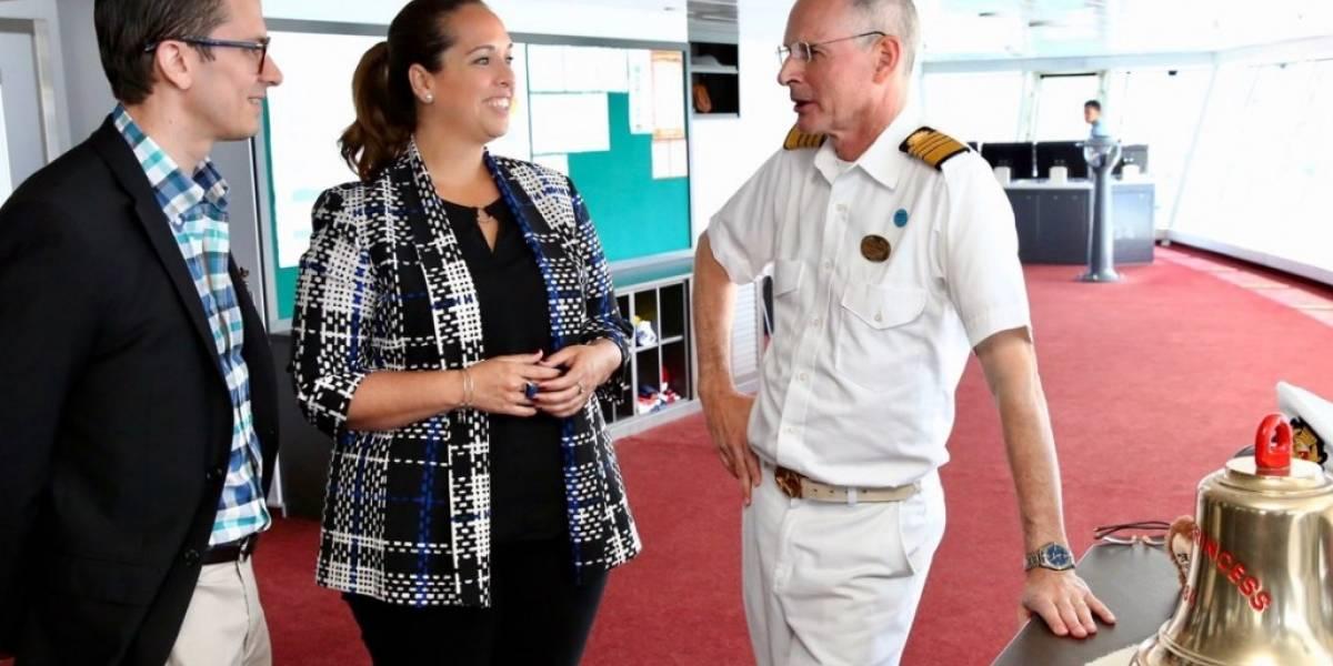 Por primera vez en Puerto Rio crucero Royal Princess