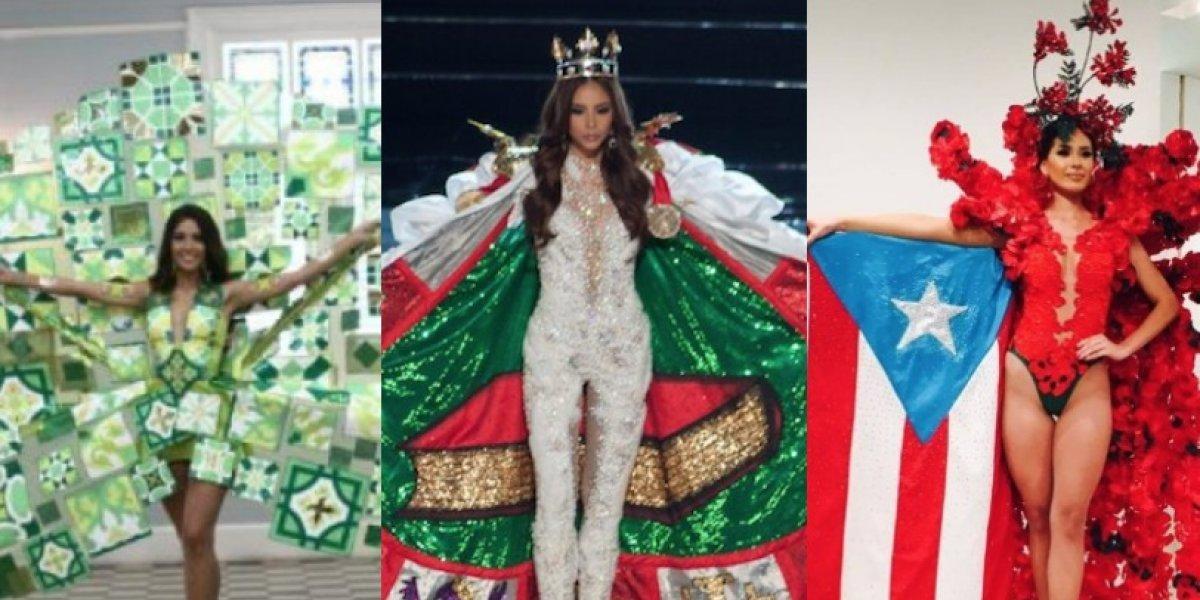 Repasamos últimos trajes típicos de las Miss Puerto Rico en Miss Universe