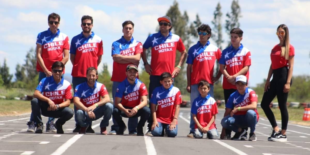 Cuándo comienza y quiénes son los chilenos que irán al Mundial de karting en Brasil