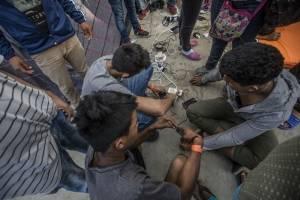 Caravana migrante en Baja California