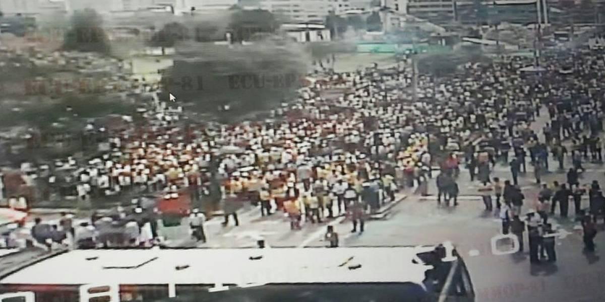 Quito: Cierres viales por protestas de transportistas