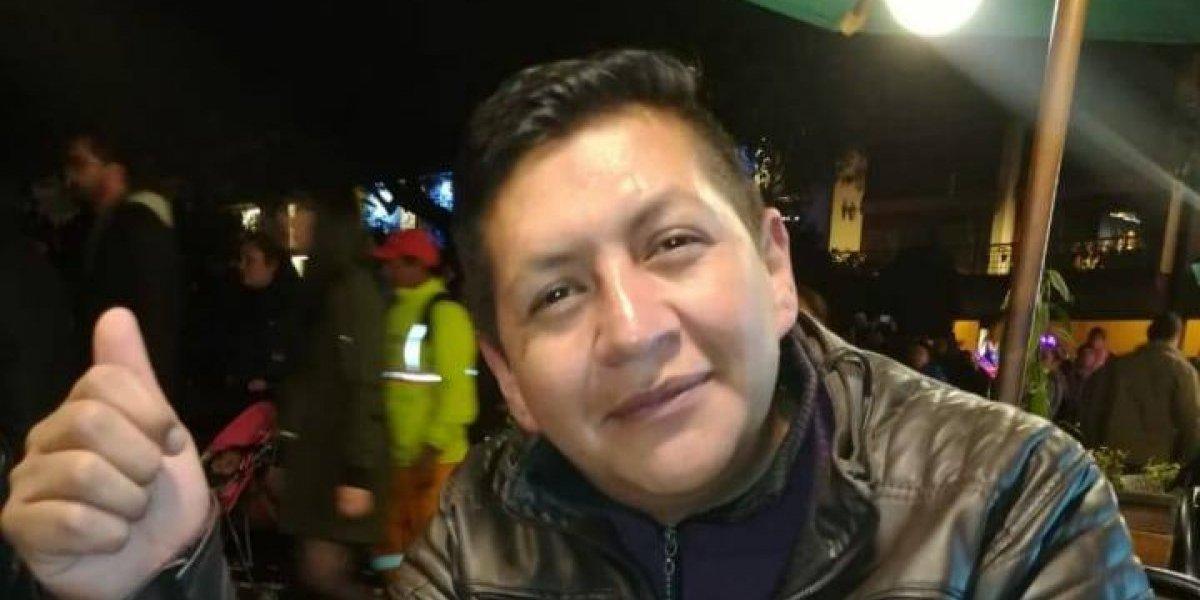 Familiares buscan a Geovanny Castellanos, desparecido en Quito