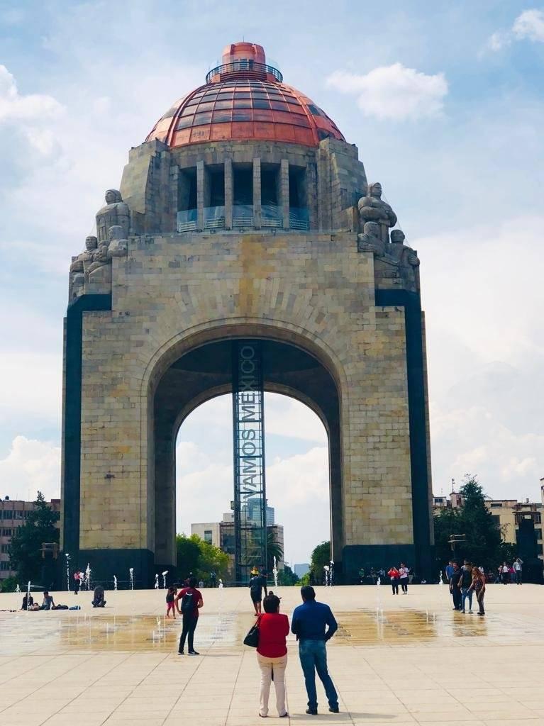 Monumento a la Revolución Fotos: Carmen Ortega | Publimetro