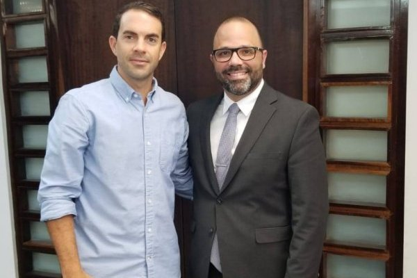 Paco López y Manuel Laboy