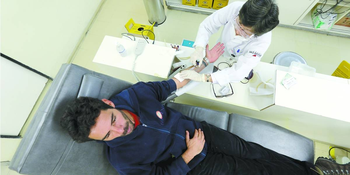 Estoques de três tipos sanguíneos estão baixos em São Paulo