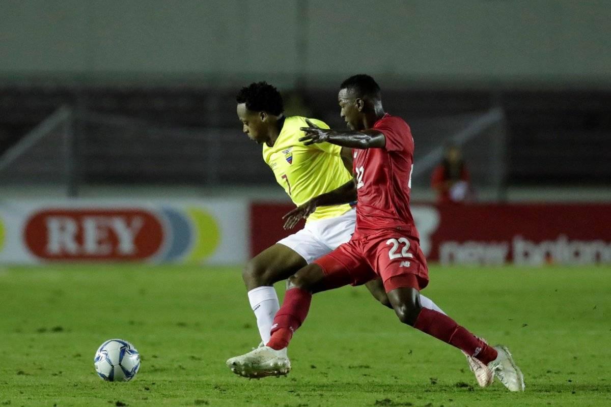 Panamá vs. Ecuador EFE
