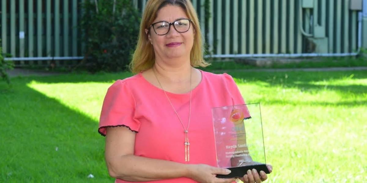 Profesora del RUM es premiada por Google