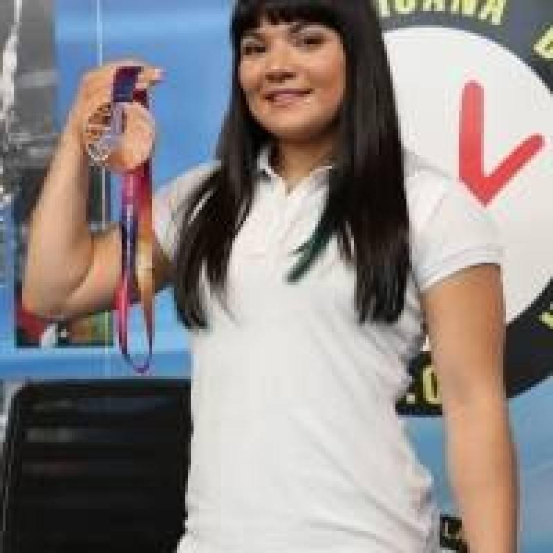 La medallista mundial mexicana buscará otro resultado positivo Carmen Ortega