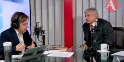 AMLO en Aristegui Noticias