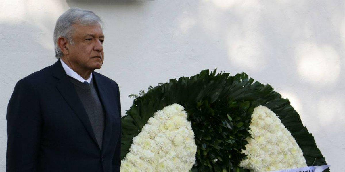 Juicio a ex presidentes sólo si hay presión interna: AMLO