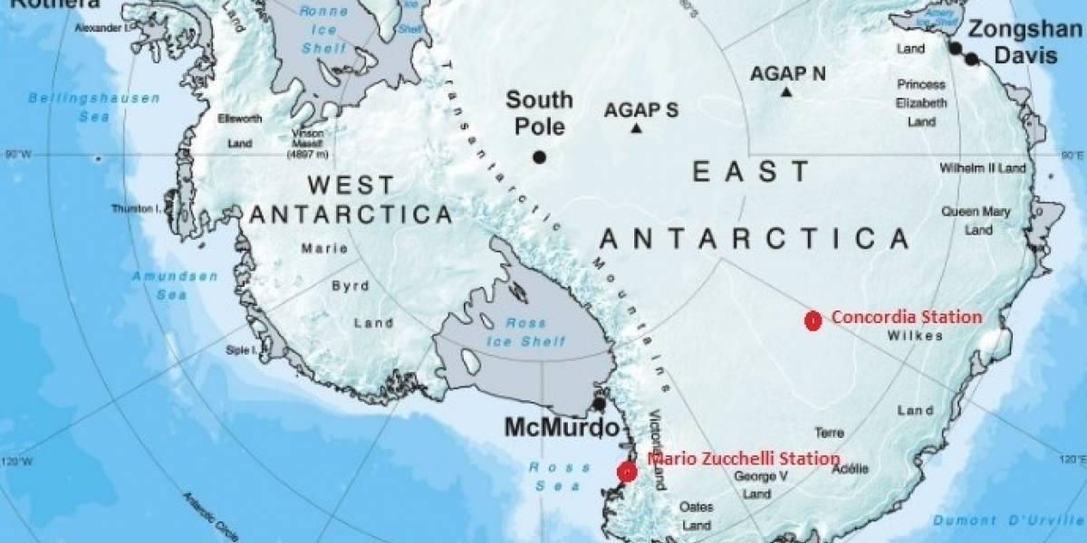 La misteriosa fuente de calor que podría estar derritiendo a la Antártida